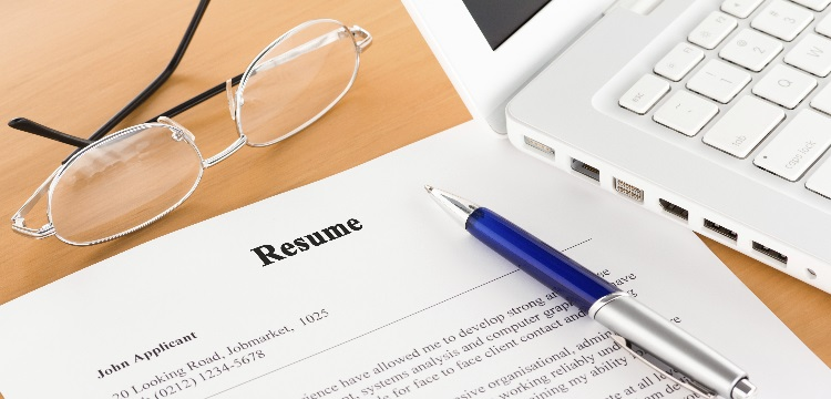 start writing your resume