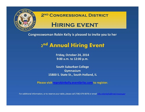 Hiring Event Flyer