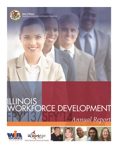 2014 Illinois Workforce Development Annual Report PDF
