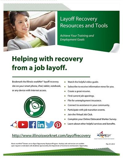 Layoff Recovery Flyer PDF