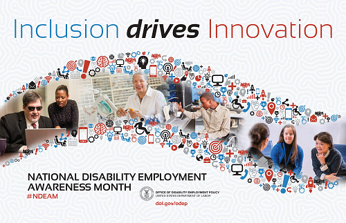 National Disability Employment Awareness Month Poster