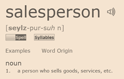 Salesperson Definition