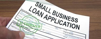 Small Business Loan Application Image