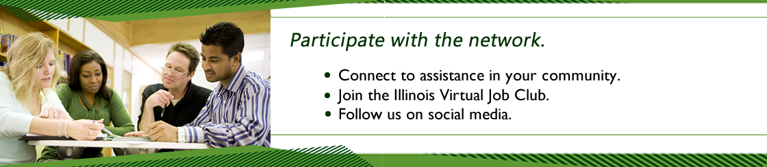 Participate with the network.