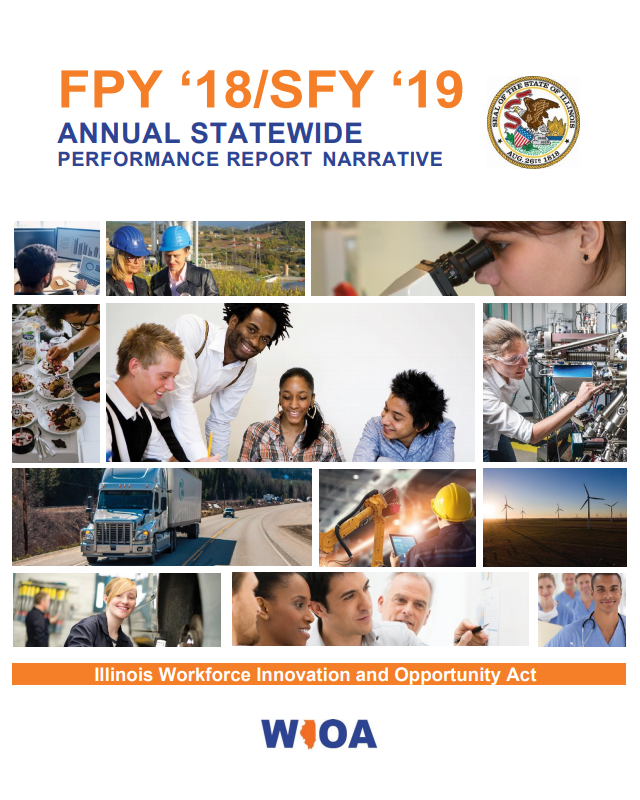 2016 Illinois Workforce Development Annual Report (PDF)